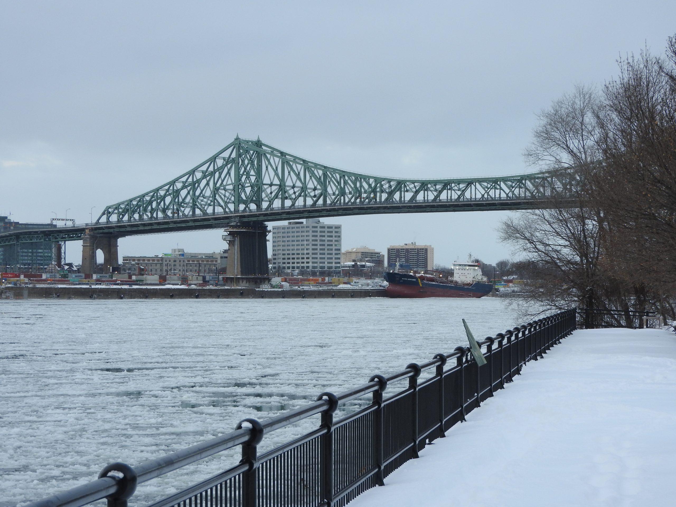 Le pont Jacques Cartier